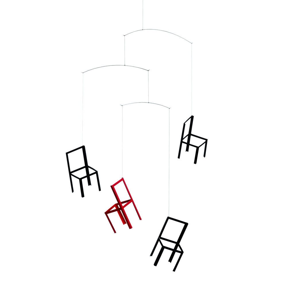 Flensted Flying Chairs Mobile - HOWKAPOW
