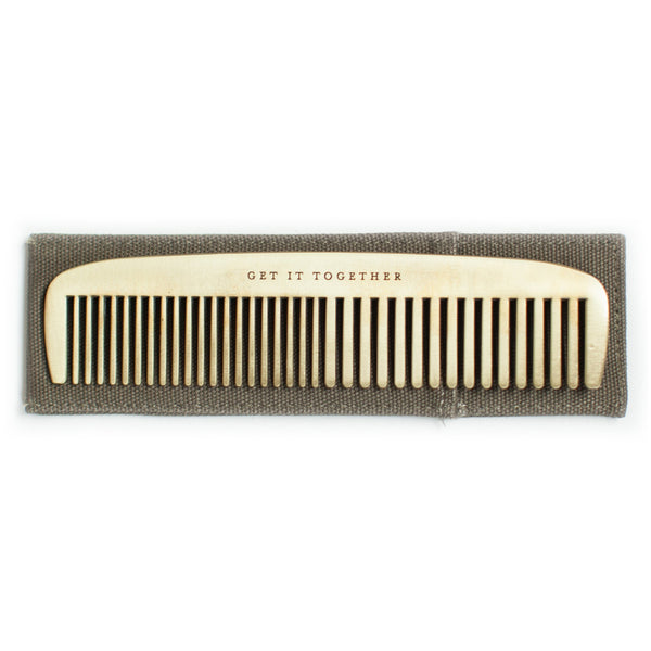 Get It Together Gentlemens Comb by Men's Society - HOWKAPOW