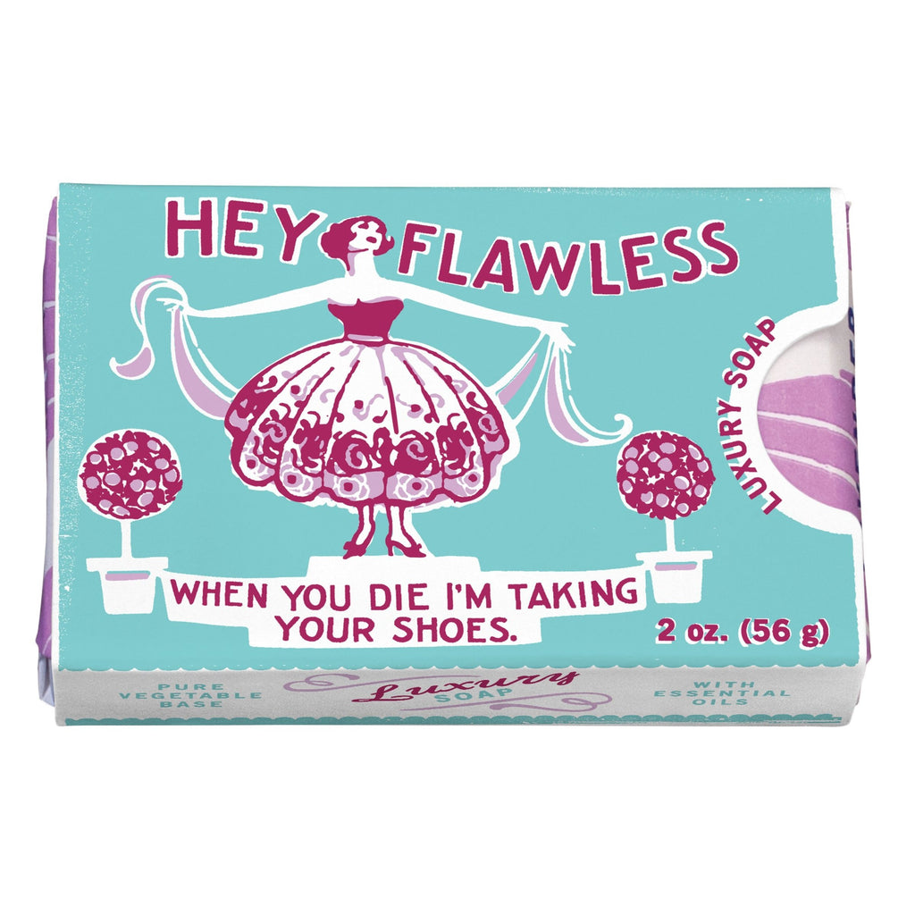 Hey Flawless Soap - HOWKAPOW