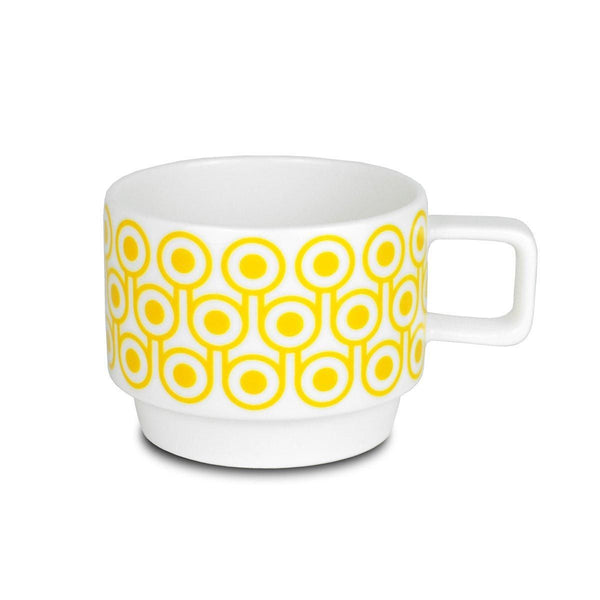 Hokolo Short Mug Egg Yellow - HOWKAPOW