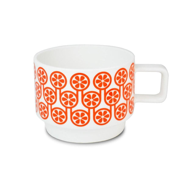Hokolo Short Mug Orange - HOWKAPOW