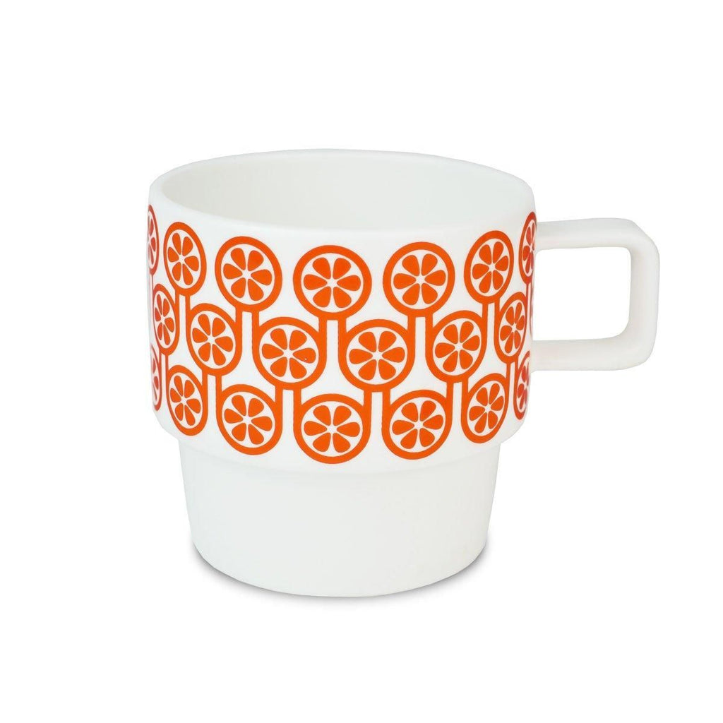 Hokolo Tall Mug Orange - HOWKAPOW