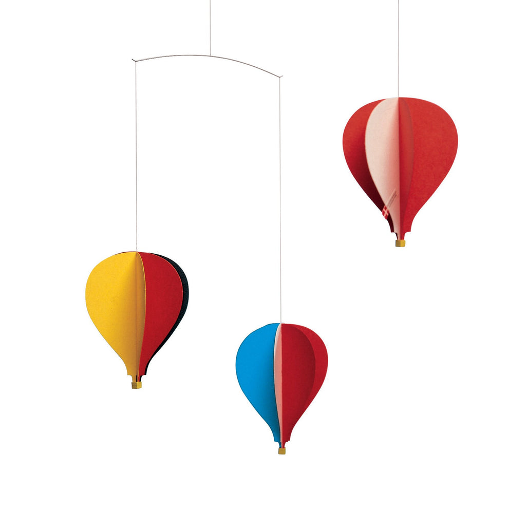 Hot Air Balloon Mobile - HOWKAPOW