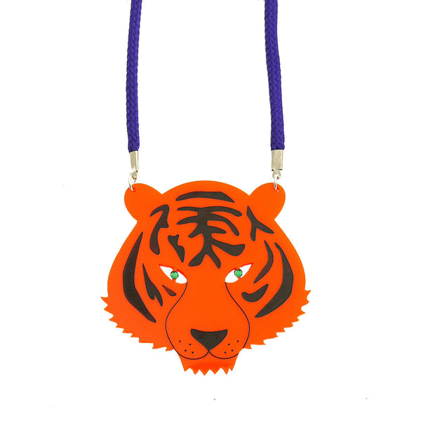 Tiger Statement Necklace - HOWKAPOW