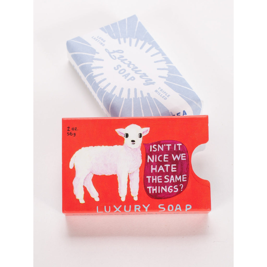 Isn't It Nice We Hate The Same Things Soap - HOWKAPOW