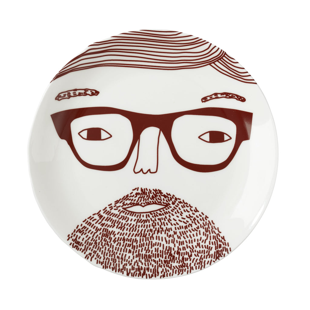 Johnny Plate by Donna Wilson - HOWKAPOW