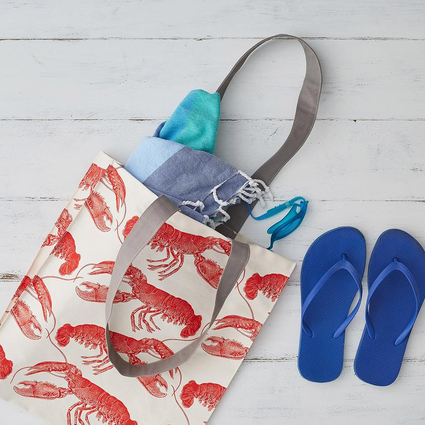 Lobster Tote Bag - HOWKAPOW