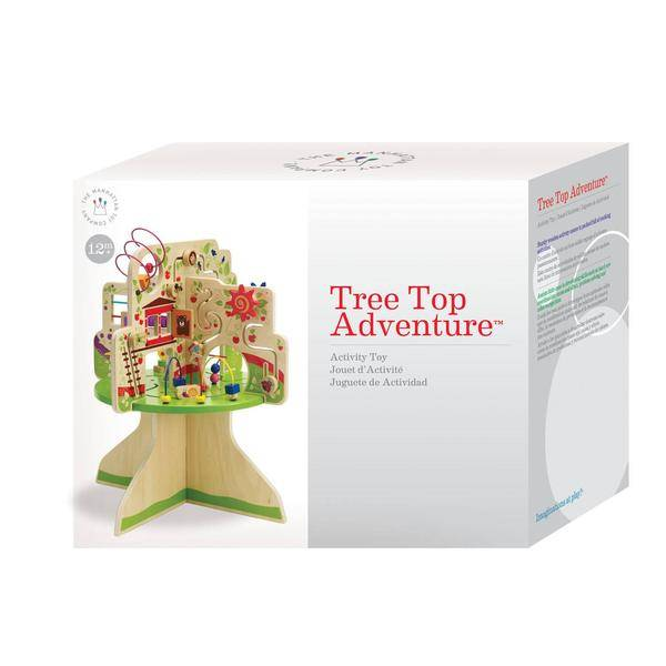 Toy Tree Top Adventure Wooden Activity Toy