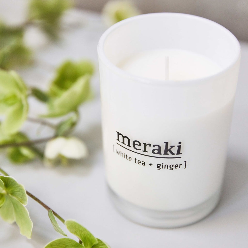 Sandalwood & Jasmine Scented Candle