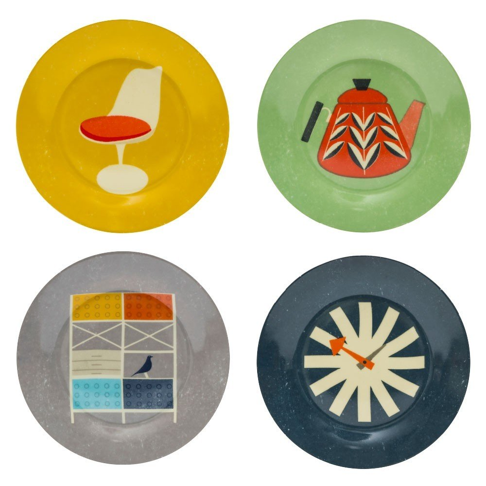 The Modern Home Side Plates - HOWKAPOW