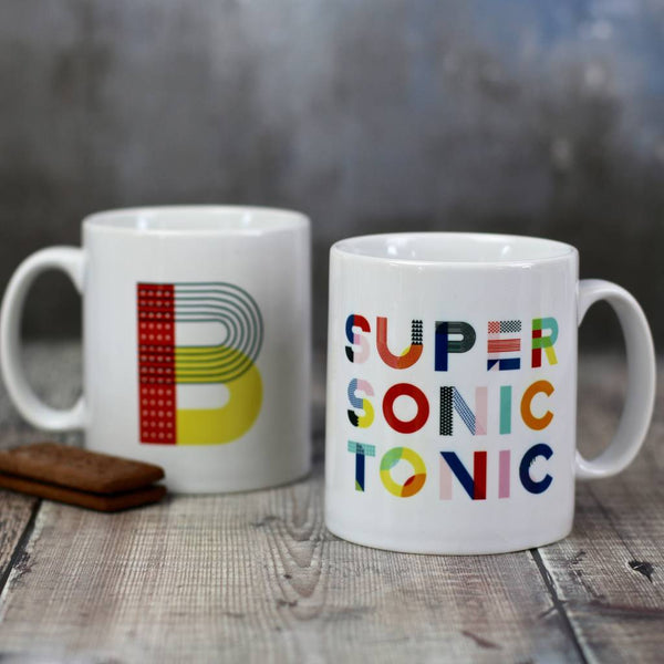 Personalised Supersonic Tonic Mug - HOWKAPOW