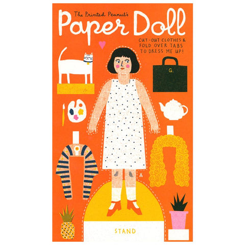 Paper Doll Activity Booklet - HOWKAPOW