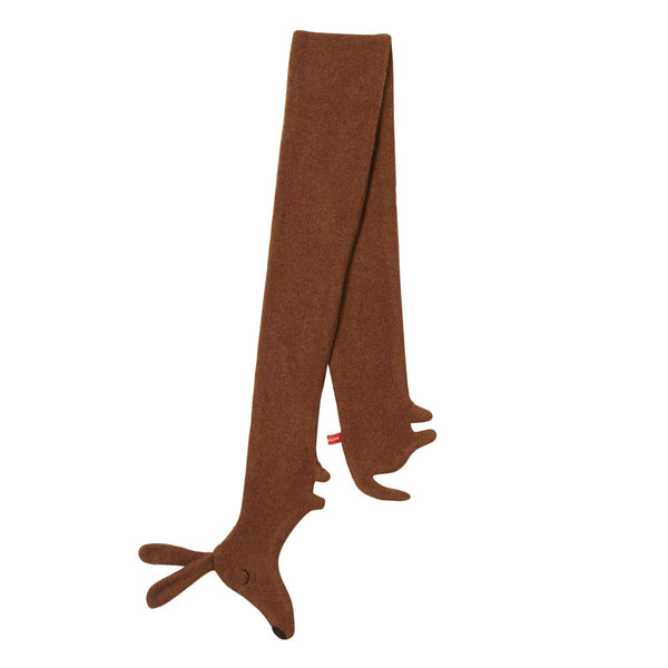 Sausage Dog Scarf – Brown - HOWKAPOW