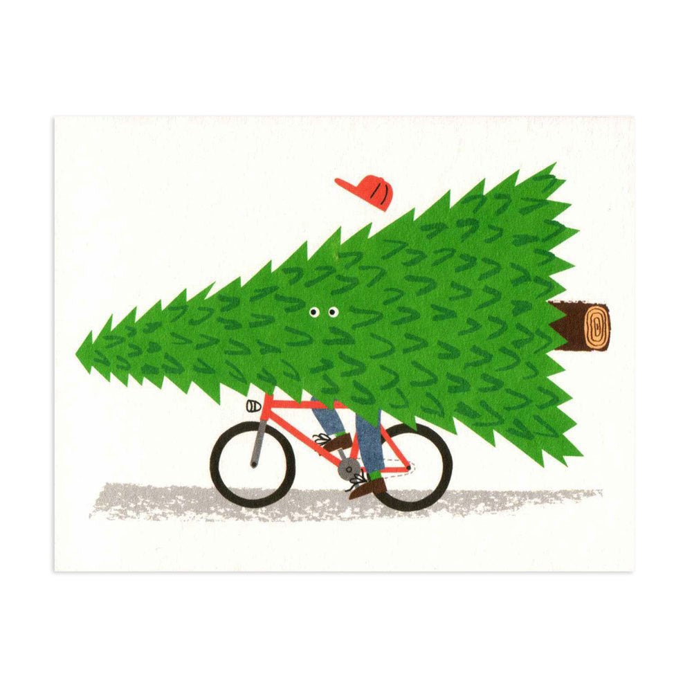 Seasonal Cyclist - HOWKAPOW