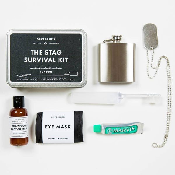 Stag Survival Kit by Men's Society - HOWKAPOW