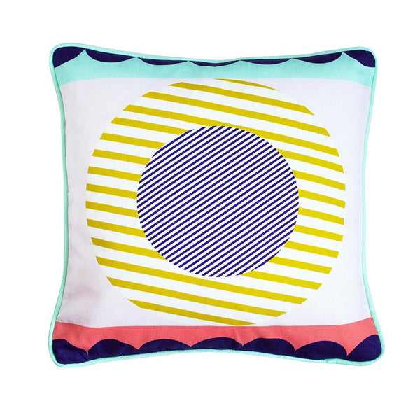 Sun Geometric Cushion - HOWKAPOW