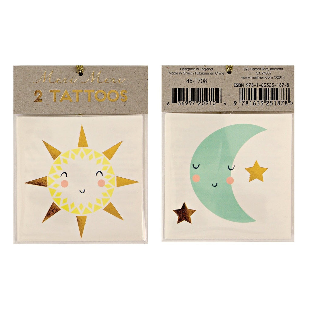 Sun & Moon Tattoos - HOWKAPOW
