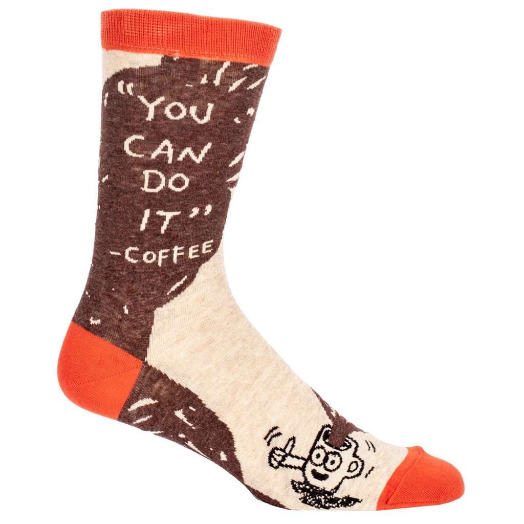 You Can Do It - Coffee Men's Socks