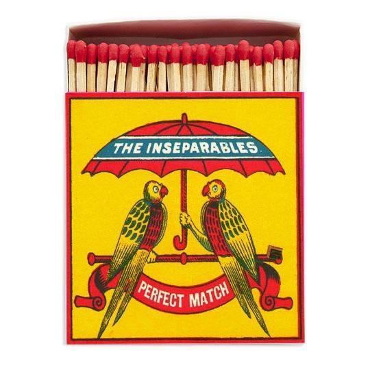 The Inseparables Luxury Matches - HOWKAPOW