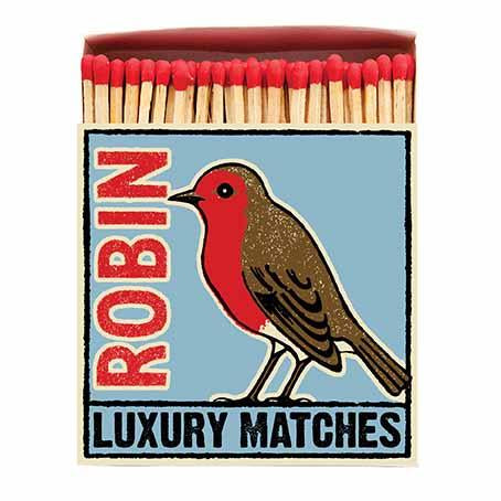 The Robin Luxury Matches - HOWKAPOW