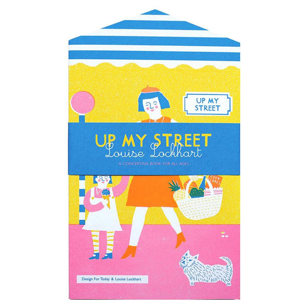 Up My Street Concertina Book - HOWKAPOW