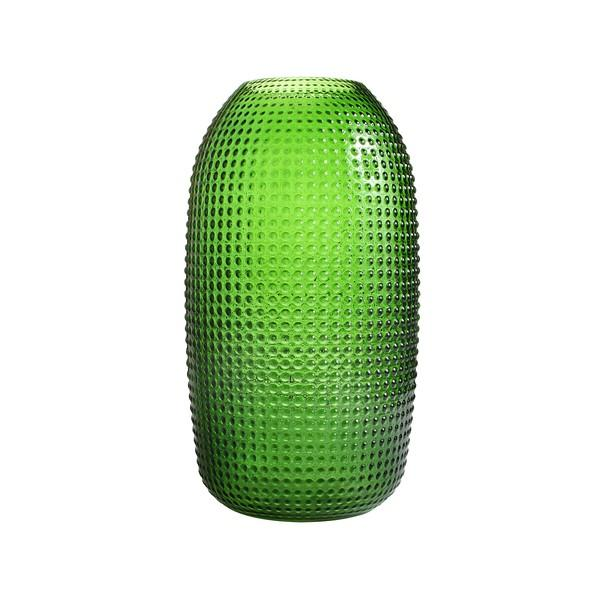 Vase - Dotted Green (Large) - HOWKAPOW