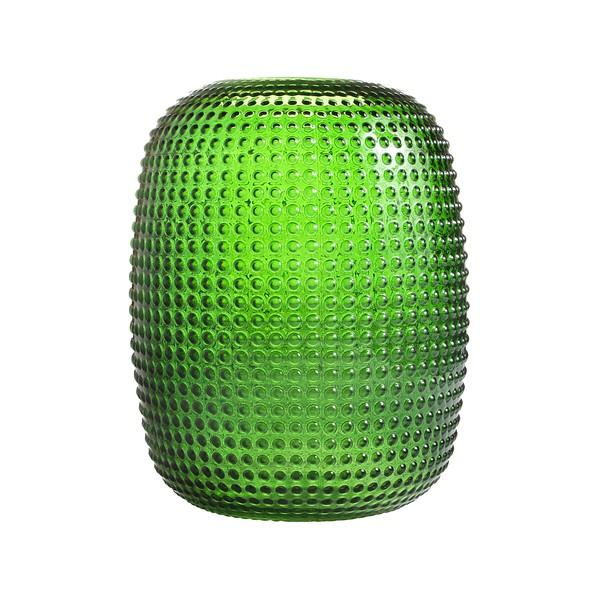 Vase - Dotted Green (Small) - HOWKAPOW