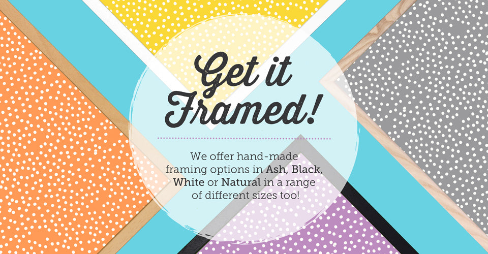 Our Framing Options!