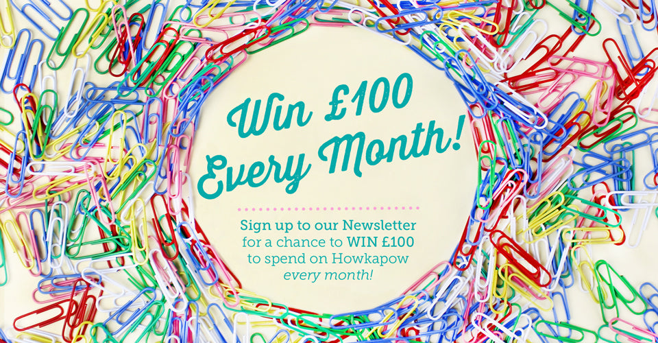 Win £100 with our newsletter