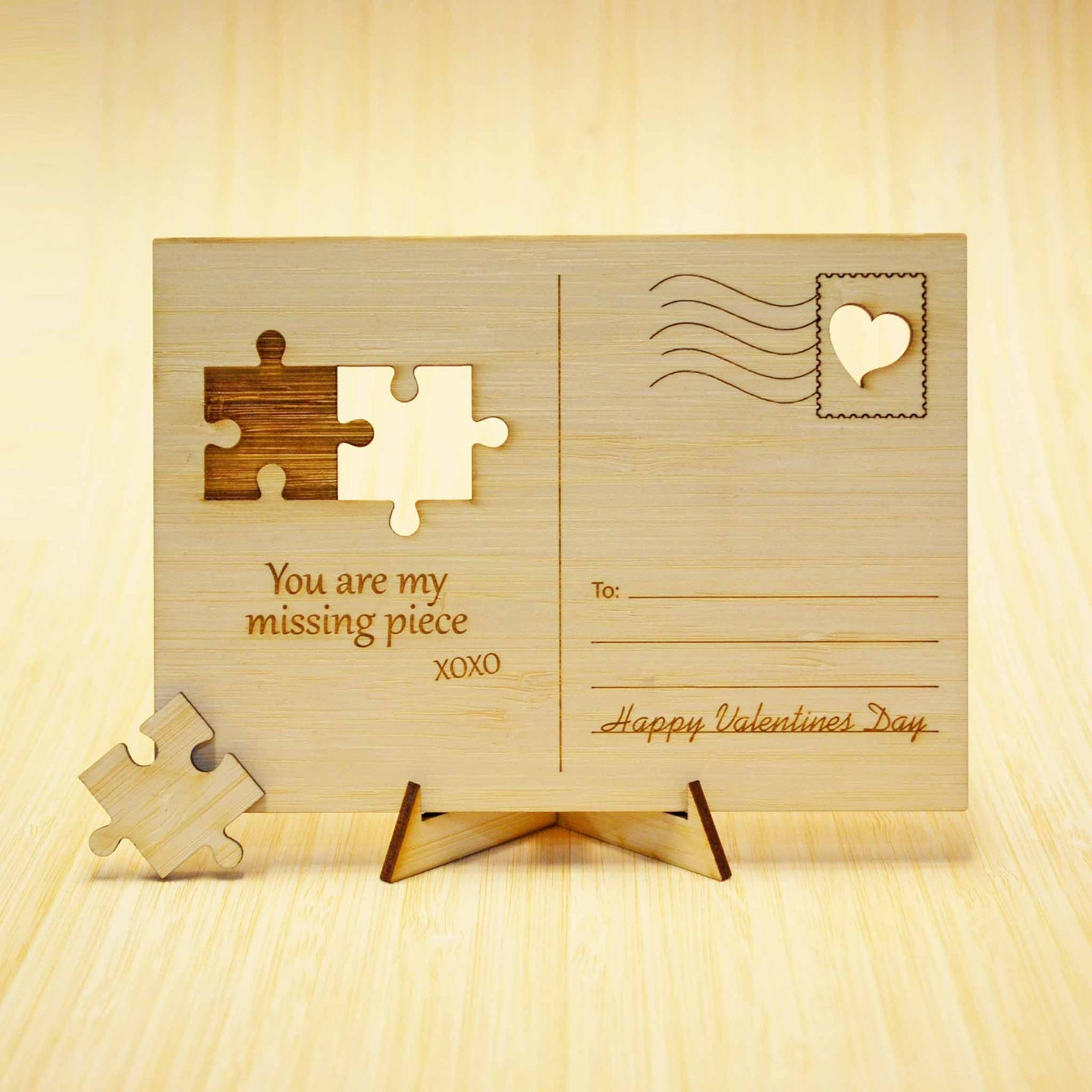 You are my missing piece Puzzle Postcard