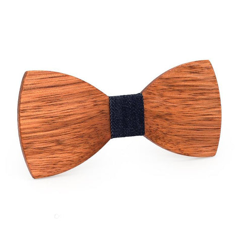 Wooden Bowties + Rear Engraving