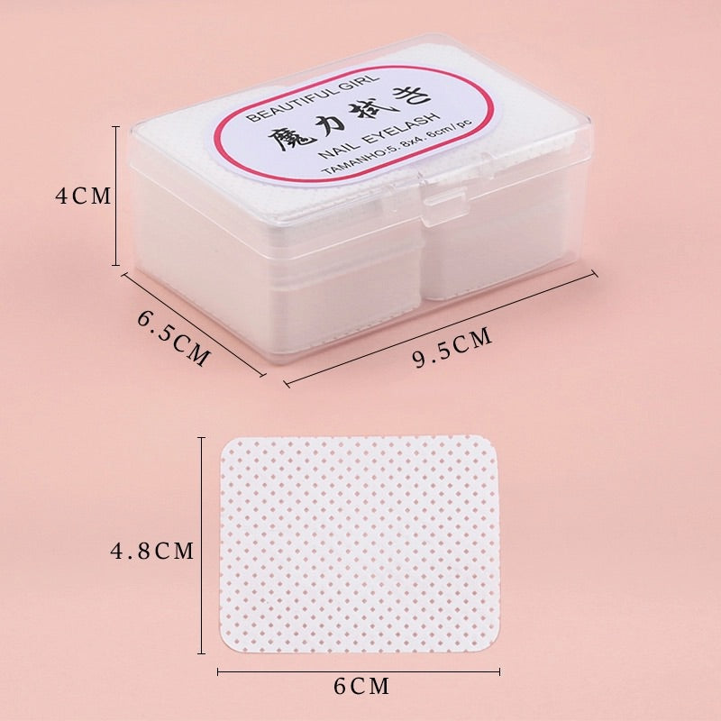 180 pcs Lint free paper cotton wipes