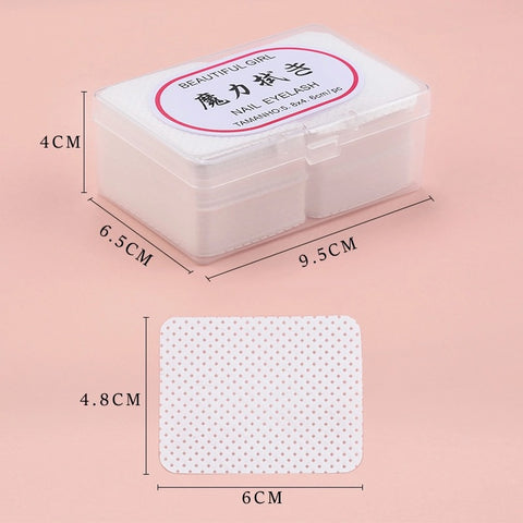 180 pcs Lint free paper wipes