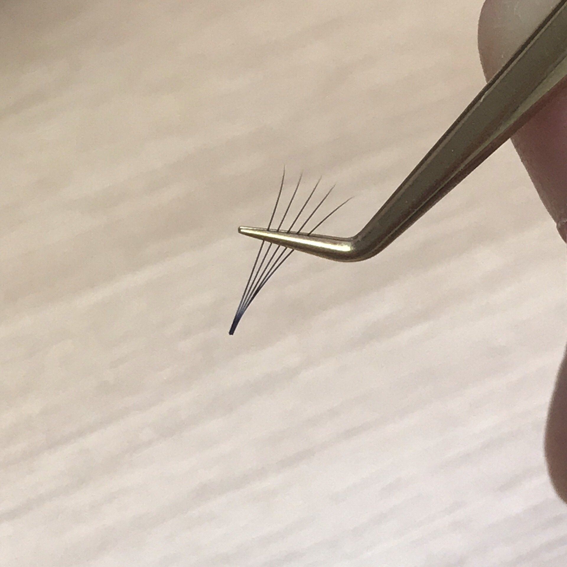 75 degree Tip Volume Tweezers