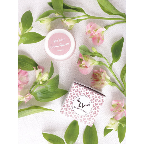 Lashvibes Soft Cream Remover