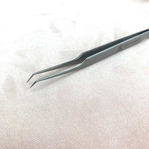 Eyelash Maker 45 Degree Tweezers