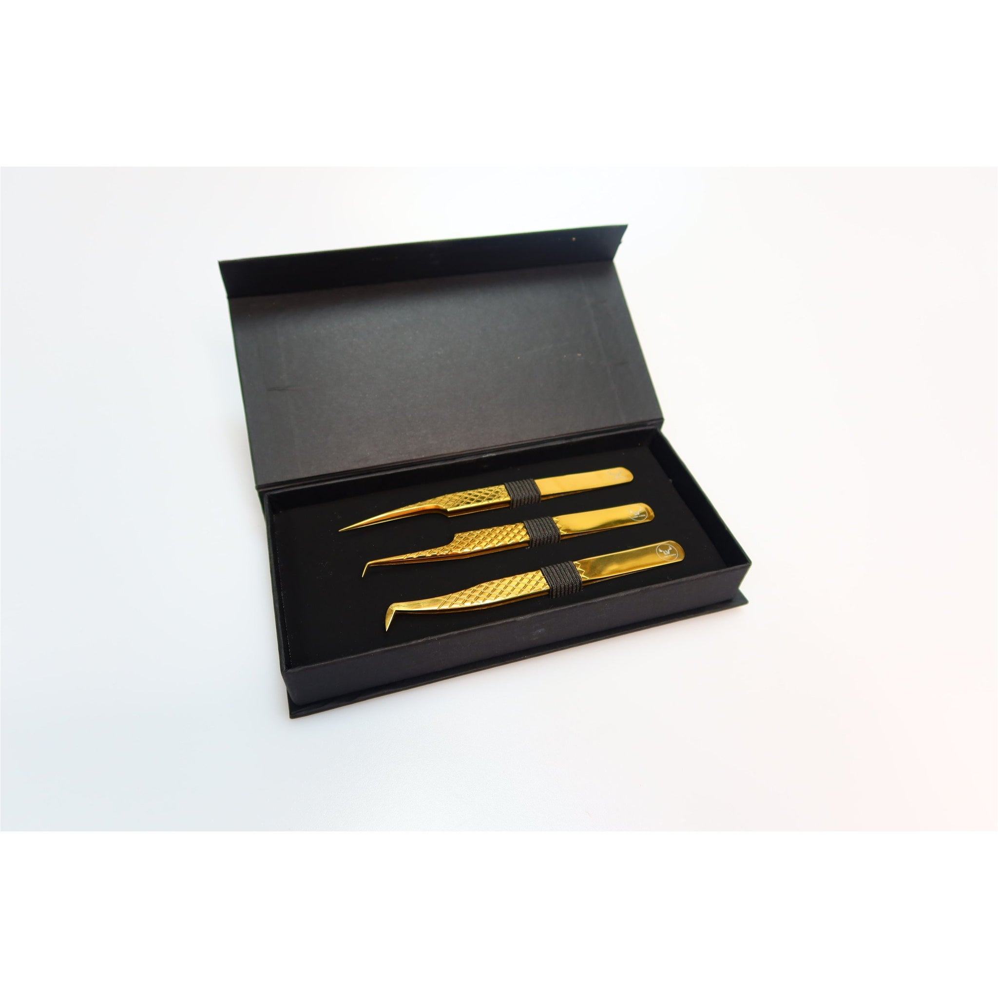 Deluxe Gold Pro Volume Tweezer Package
