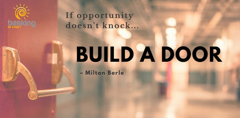Milton Berle quote on opportunity