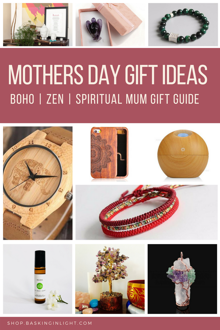 Mothers Day Gift Guide for Boho Mum, Zen Mum and Spiritual Mum