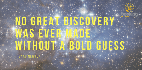 Isaac Newton quote about bold discoveries