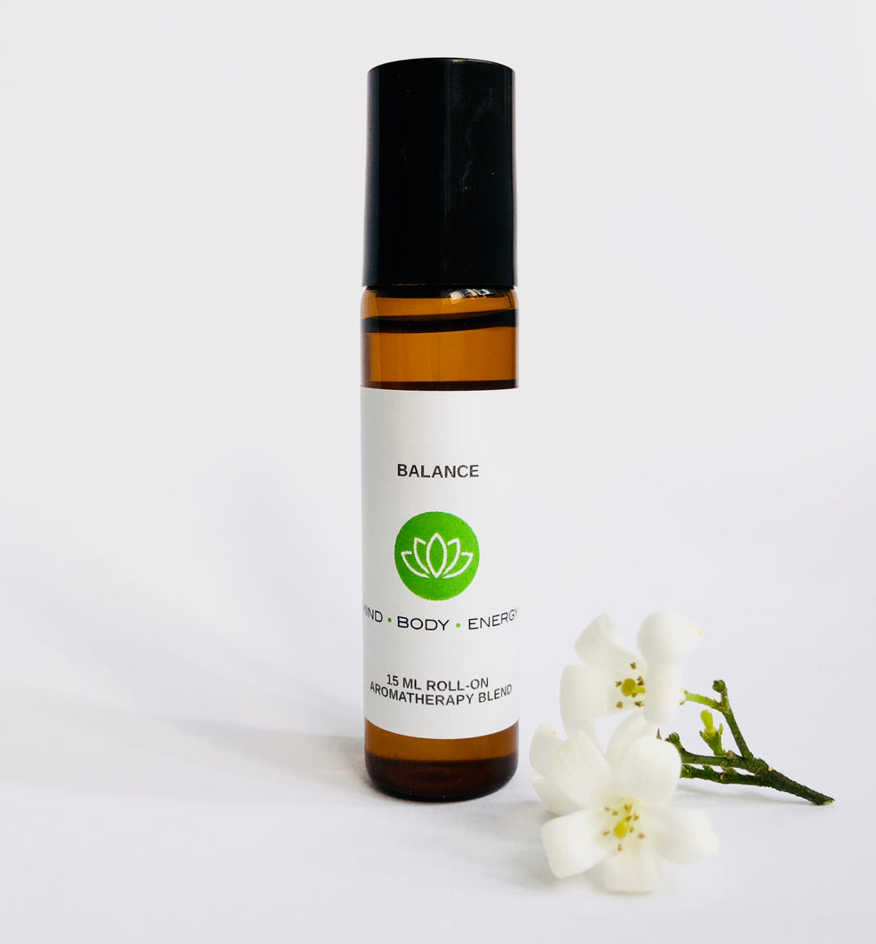 Balance Aromatherapy Blend by Mind Body Energy