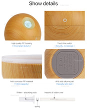 Ultrasonic Essential Oil Mist Diffuser - 130ml, compact design