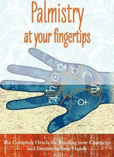Palmistry at Your Fingertips book & card teaching system by Johnny Fincham