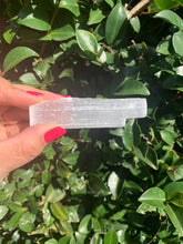 Raw Selenite Cleansing Crystal / Light Wand