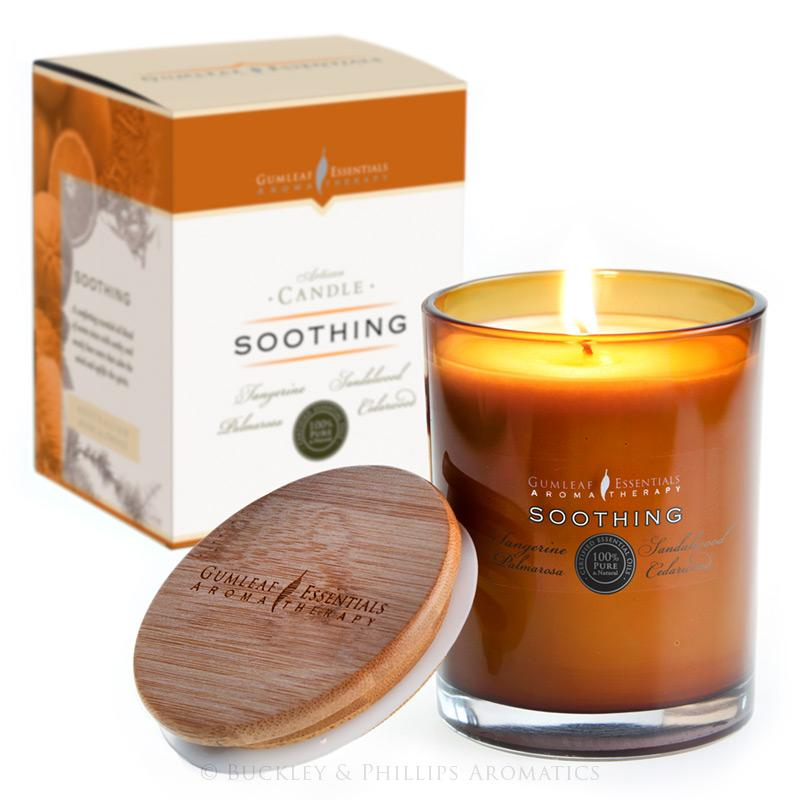 Soothing Artisan Aromatherapy Candle by Gumleaf Essentials