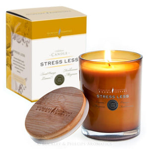 Stress Less Artisan Aromatherapy Candle by Gumleaf Essentials