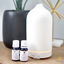 Ultrasonic White Stone Essential Oil Diffuser