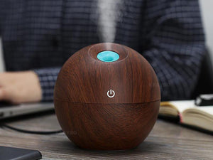 KBAYBO Essential Oil Aromatherapy Diffuser Ultrasonic Mist Humidifier 130ml