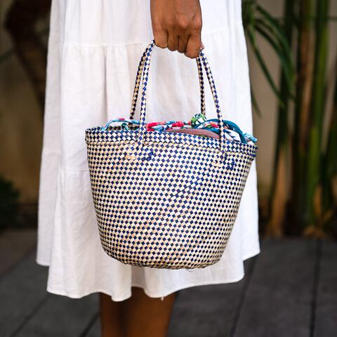 Ocean Luxe:Shelley Basket