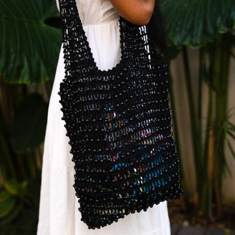 The Burleigh Beaded Bag - Ocean Luxe